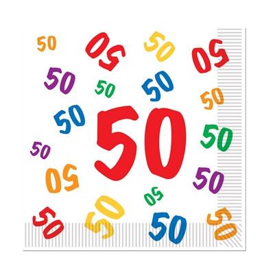 50 luncheon napkins