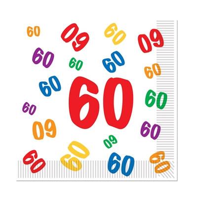 60 luncheon napkins