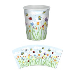 garden hot/cold beverage cups