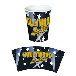 Hollywood Lights Hot/Cold Cups (8/pkg)