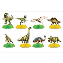 Jurrasic Park on your table top with these Dinosaur Mini Centerpieces!