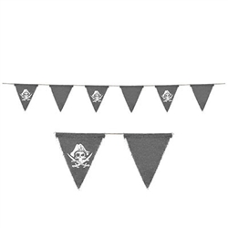 Pirate Fabric Pennant Banner