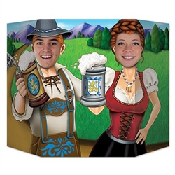 Oktoberfest Couple Photo Prop