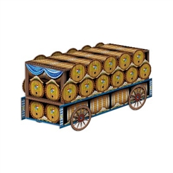 3-D Beer Wagon Centerpiece