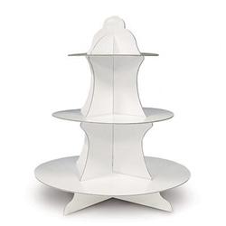cupcake stand - white
