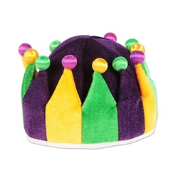 Plush Jester Crown