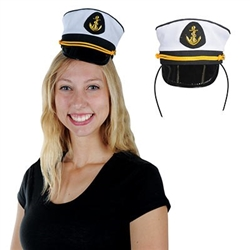 Yacht Captains Cap Headband