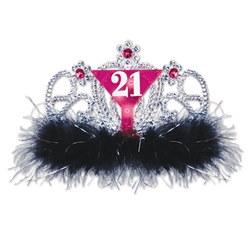 light up 21 tiara