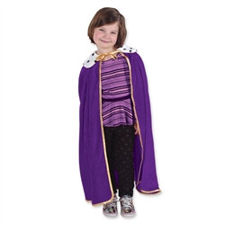 Childs Purple Kiing/Queen Robe