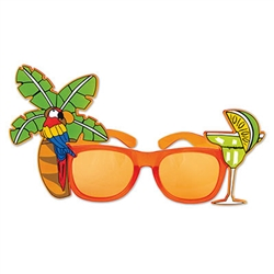 Palm Tree and Parrot Fanci Frames