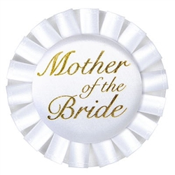 Mother of the Bride Satin Button