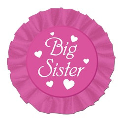 Big Sister Satin Button