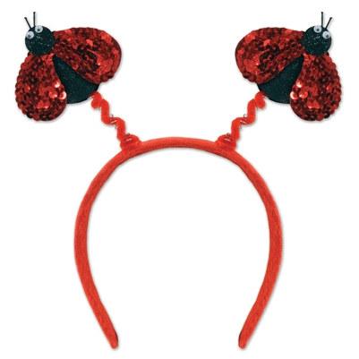 sequined ladybug boppers