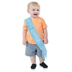 1st baby satin sash
