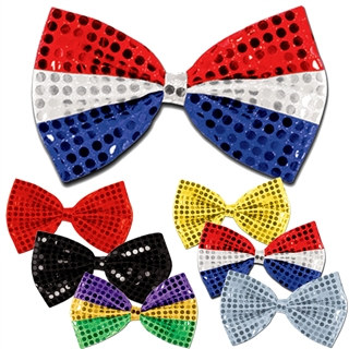 Glitz N Gleam Sequined Bow Tie