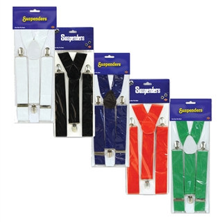 Solid Colored Suspenders