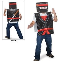 plastic 8-bit ninja vest