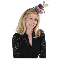 Mardi Gras Top Hat Headband