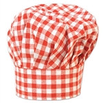 Gingham Chef's Hat