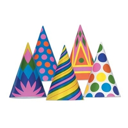 Need to 'cap' off a large event?  Our Bulk Assorted Paper Party Hats  is the answer!