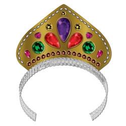 printed jeweled tiara