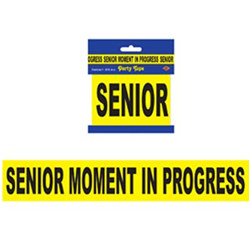 senior moment in progress