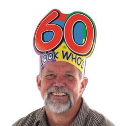 look who's turning 60 headband