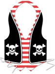 Plastic Pirate Vest