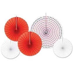 papee & and foil decorative fans