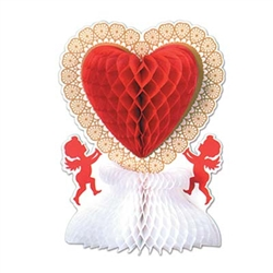 Art Tissue Valentine Centerpiece