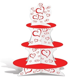 valentine cupcake stand