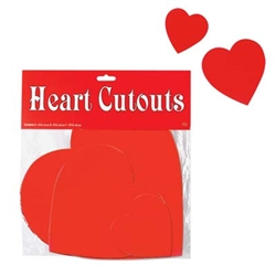 Assorted Red Hearts