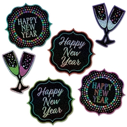 Happy New Year Cutouts