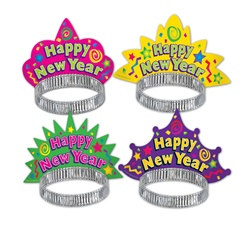 Color Brite New Year Tiaras