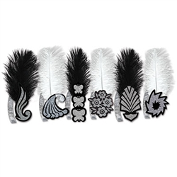 black and white roaring 20's tiaras