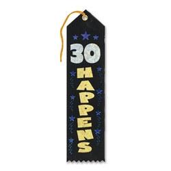 30 happens ribbon