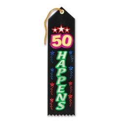 50 happens ribbon