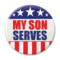 My Son Serves Button