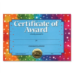Certidicate Of Award Certificates