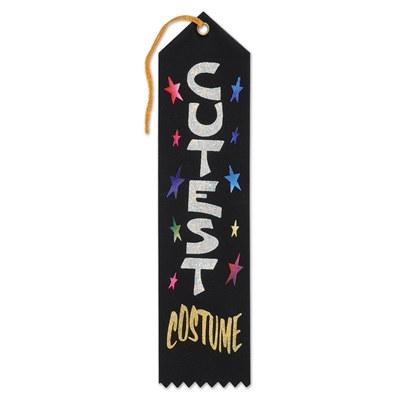 cutest costume hallowen award ribbon
