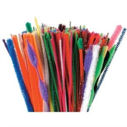 assorted chenille stems