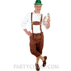 Costume Lederhosen Large