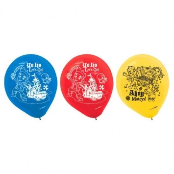 Jake and the Neverland Pirates Latex Balloons