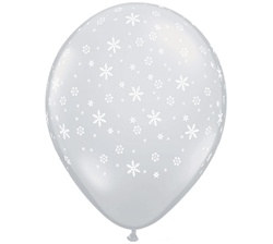 Snowflake Latex Balloon