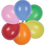 Assorted Latex Balloons (12/pkg)