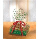 Holly Large Treat Trays with Cello Bags - makes a beautiful presentation for your baked gifts