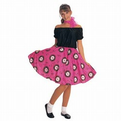 Adult 50's Girl Costume