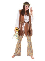 Adult Female Hippie Costume