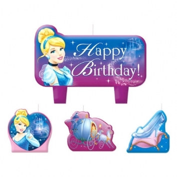Cinderella Candle Set