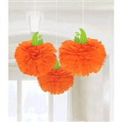 Pumpkin Fluffy Tissue Decoration